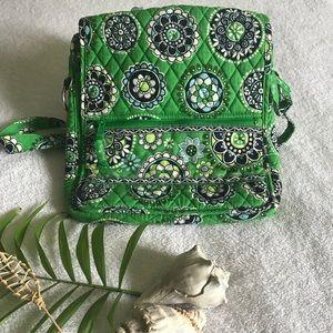 Brand New Green Vera Bradley Crossbody